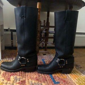 Classic Frye Harness Boot.
